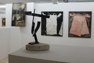 Detalle de las obras en la galería GH40