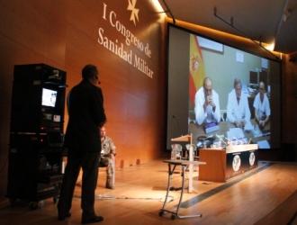 Videoconferencia con el Gómez Ulla
