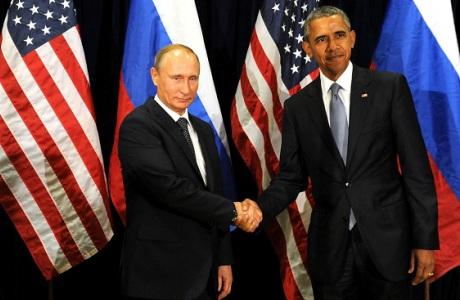 Vladimir Putin y Barak Obama en la ONU