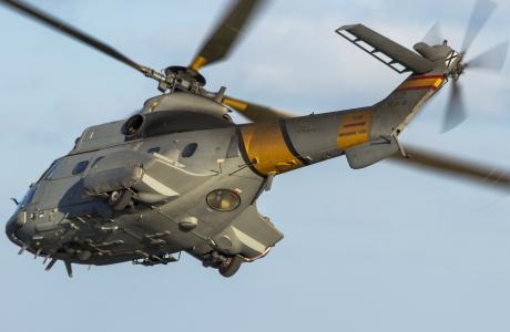 Super Puma Ejército del Aire