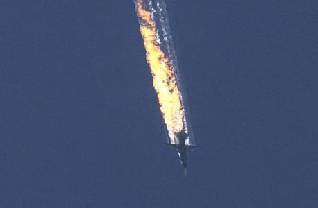 Derribo del Su-24 ruso