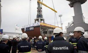 La empresa Navantia.