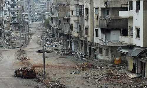 Imagen del país en guerra