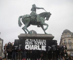 """Je suis Charlie"" Francia"