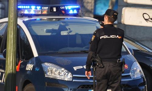 Imagen de un Policía Nacional
