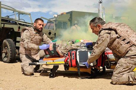 Agrupación de Hospital de Campaña (AGRUHOC). Foto: Ejército de Tierra.