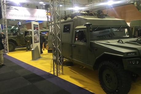 Vehículos stand Ejército de Tierra