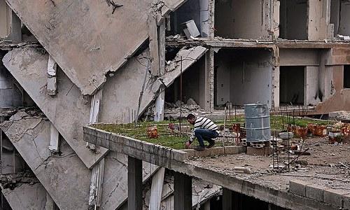 Imagen de la guerra de Siria
