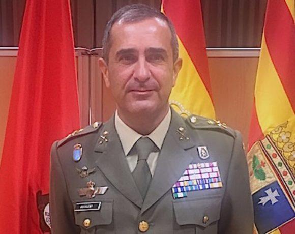 El general Rosaleny en una entrevista para CISDE