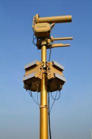El sistema AUDS está probado para operar en todas las condiciones meteorológicas. Foto: Blighter.