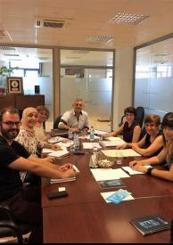 Reunión del Grupo Local de Málaga. Foto: Ayuntamiento de Málaga.