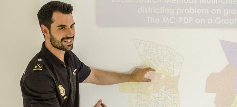 El inspector de Policía Miguel Camacho. Foto: CNP.
