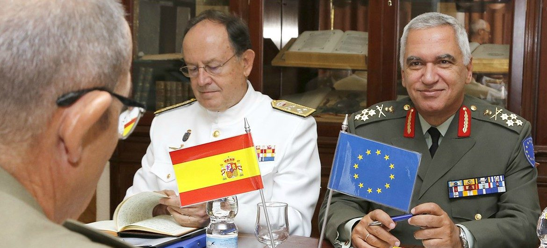 General Comité Militar de la UE España. Fuente: EMAD.
