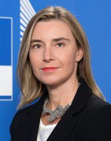 La alta representante de la UE, Federica Mogherini. Fuente: UE.