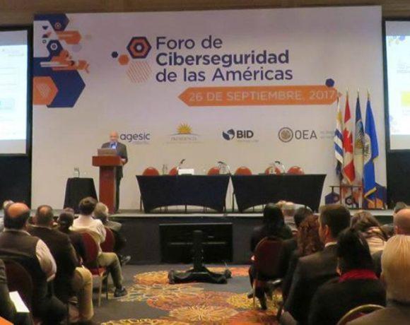 Foro de Ciberseguridad de las Américas. Fuente: AGESIC.