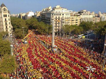 Manifestación en Barcelona. Fuente : assemblea.cat