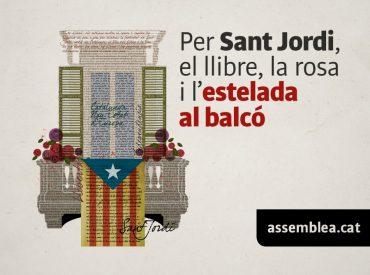 Cartel por Sant Jordi.