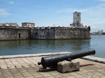 Artillería. Fuerte de San Juan de Ulúa.
