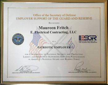 Varios países conceden galardones como el de Patriotic Employer a las empresas que colaboran con Defensa.