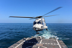 El helicóptero NH-90.