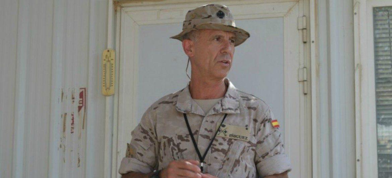 General Jaime Íñiguez Andrade, Comandante del MCOE