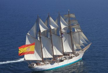 Buque Escuela Juan Sebastián de Elcano.