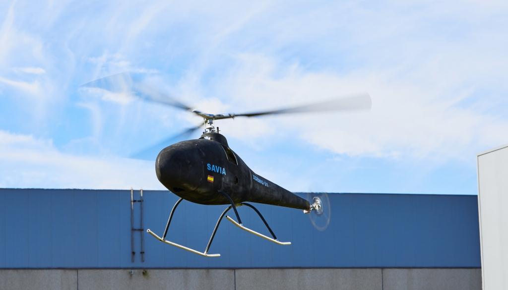El dron SAVIA. Fuente: UNVEX.