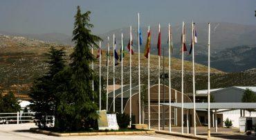 Base española Miguel de Cervantes al servicio de UNIFIL.