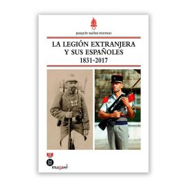 """El libro """"La legión extranjera y sus españoles 1831 - 2017""""."""