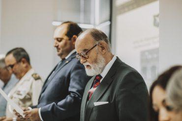 """José Domínguez León, doctor en Historia y fundador y editor de la """"Revista de Pensamiento Estratégico y Seguridad CISDE""""."""